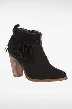Boots femme franges