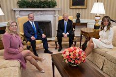 Биньямин и Сара Нетаньяху, Дональд и Мелания Трамп. Фото: GLOBAL LOOK press