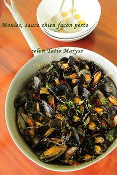 Voici une recette de moules au pesto antillais pour changer des traditionnelles moules à la marinière. Tatie Maryse partage ses conseils avec vous.
