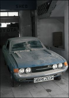 Frozen in Time: Brand New Toyotas Abandoned on Dealer Lot in Cyprus Abandoned Buildings, Abandoned Houses, Abandoned Places, Abandoned Vehicles, Famagusta Cyprus, Plane Photography, Automobile, Turkish Military, Car Barn