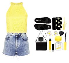 """""""Black and yellow"""" by johiisech6 ❤ liked on Polyvore"""