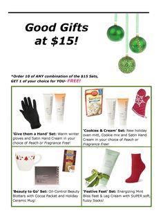 This week get these Good Gifts for only $11.25! Skip the Black Friday Madness this year and shop online during PINK WEEK! Today thru Cyber Monday (11/20-11/26), ENJOY 25% OFF EVERYTHING on my website PLUS FREE SHIPPING on orders of forty dollars or more! www.marykay.com/crystalsatx Enter Promo. Code: PINKWEEK
