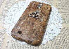 Deathly Hallows Wood Pattern Galaxy S4 Case, $11.99 | 56 Totally Wearable Harry Potter-Themed Accessories