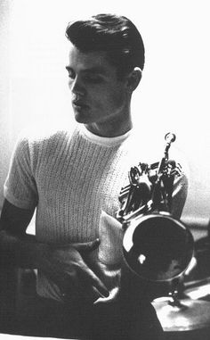 Chet Baker. Photo by William Claxton