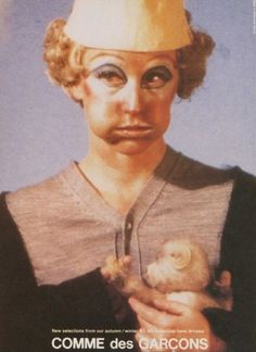 Campagne Comme des Garçons par Cindy Sherman automne 1993