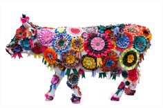 FABIANO PANIZZI 51 9986.7256 Cow Parade, Cute Cows, My Best Friend, Street Art, Mad, Chicago, Sculpture, City, My Style