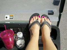 Zoya Charisma - this is the colour that I just got on my toes for my pedi.  Love it!! :)