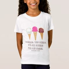 Ice Cream Kids Shirt - tap, personalize, buy right now!