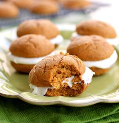 The Girl Who Ate Everything Pumpkin Whoopie Pies