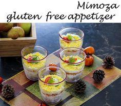 Mimoza russian appetizer