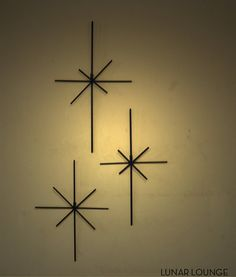 Starburst  Metal Wall sculpture by lunarloungedesign on Etsy, $65.00