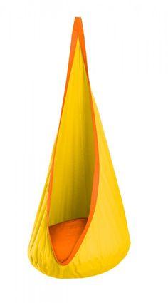 Sunny color for a sunshiny kid! Made In The Shade Hammocks - Hammock Swing For Kids – Joki Model (Sunny Color) , $119.95 (http://www.madeintheshadehammocks.com/hammock-swing-for-kids-joki-model-sunny-color/) #hammocksforkids #kidshammockswings