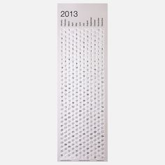 Fab.com | Bubble Calendar 2013.  I wouldn't be able to resist popping the whole thing within a day :)