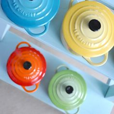 I want some Le Creuset for my kitchen someday.