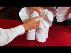 Learning How To Make Towel Animals on the Carnival Dream! - YouTube