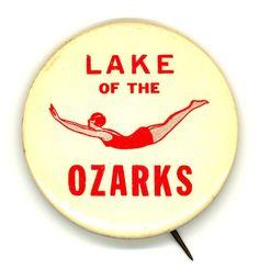 Fabulous Lake of the Ozarks memorabilia. Dive into Missouri! Design Observer, Lake Ozark, Yearbook Photos, Vintage School, Lake Life, Adventure Is Out There, Summer Fun, Vintage Photos, Button Button