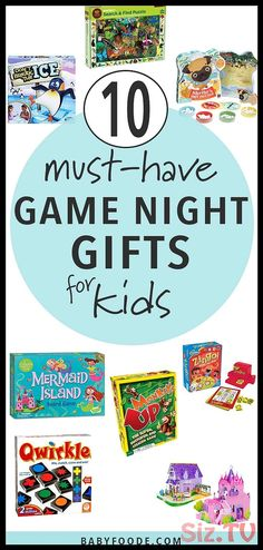 Level of your game night with these awesome board games for kids that parents will love too! 10 of the best must-have games for kids ages Christmas Brunch, Christmas Morning, Christmas Themes, Christmas Recipes, Time Games For Kids, Board Games For Kids, Mermaid Island, Baby Food By Age, Holiday Gifts