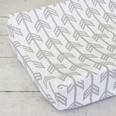 Changing Pad Cover - Gray Arrow - Jack and Jill Boutique