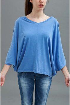 Μπλουζα αερινη βαμβακερή σε 2 χρώματα!