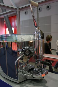 Online-Museum für Espressomaschinen