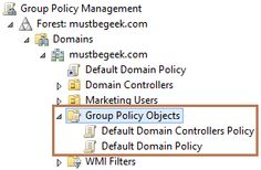 Understanding GPO in Windows Server 2012 before actually configuring and applying policy settings is very important.