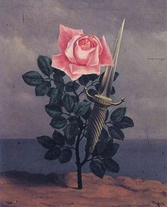 """ndivision: """"Rene Magritte - The Blow To The Heart, 1952 """""""