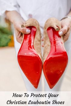 2494f7f29249 There is an easy way to keep your red bottom shoes in perfect condition.