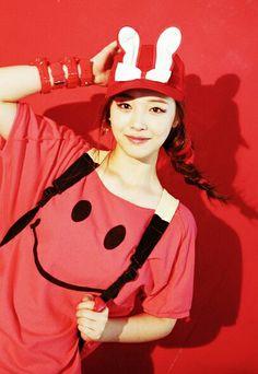 'Hot Summer' f(x) Album Repackage - Sulli Sulli Choi, Choi Jin, Pop Fashion, Cute Fashion, South Korean Girls, Korean Girl Groups, Kdrama, Hot Summer Outfits, Victoria Song