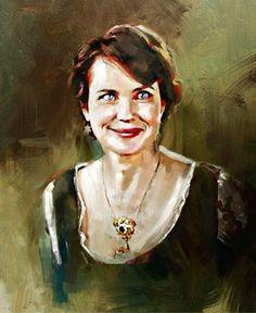 """""""Cora"""" Lady Grantham..... Downton Abbey"""