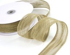 1.5' Natural Jute Ribbon - 25 Yards >>> Be sure to check out this awesome product.