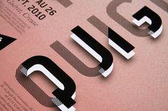 PASCAL QUIGNARD / #typography #layers #transparency / Acmé Paris