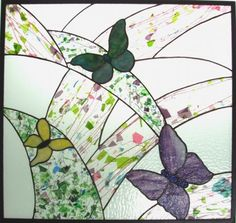 Cranberry Stained Glass Studio & Supply - Custom butterflies