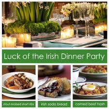 Luck Of The Irish Dinner Party Stout Braised Short Ribs Soda Bread And Corned Beef Hash
