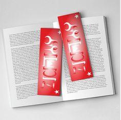 AyYıldız Kitap Ayracı Ürün Görünümü - MoonStar Book Sticker Product View