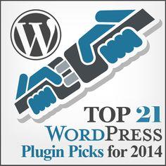 Top 21 Wordpress Plugin Picks for 2014