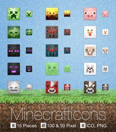 #icon #customization #Minecraft