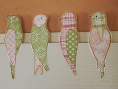 Tvoření od IVETULE: Ptáčci sedící na .... Paper, Projects, Blog, Aprons, Dressmaking, Manualidades, Log Projects, Blue Prints, Blogging