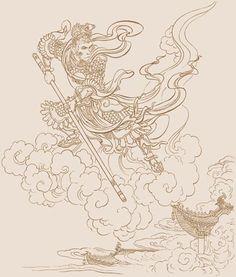 《西游记》插图:孙悟空大闹天宫-浏览图片-历史吧 历史学习网