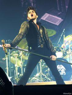 Adam Lambert performing live with Queen  Wow!