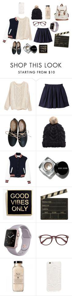 """Untitled #828"" by hotlinejenn ❤ liked on Polyvore featuring Uniqlo, Miz Mooz, H&M, rag & bone, Bobbi Brown Cosmetics, Madewell, Ballard Designs, JFR and Wet Seal"