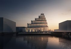 jaja architects wins competition to design copenhagen's first new church in 30 years