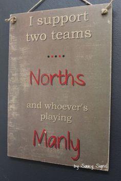 Norths-v-Manly-North-Sydney-Bears-Retro-Wooden-Shed-Bar-BBQ-Rugby-League-Sign