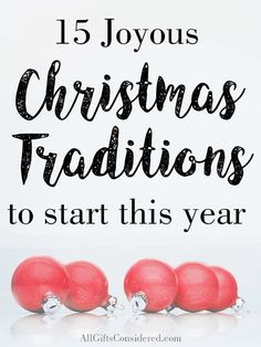 15 Meaningful Christmas Traditions to Start with Your Family - All Gifts Considered Twelve Days Of Christmas, Christmas Tea, Unique Christmas Gifts, Christmas Gift Guide, A Christmas Story, Holiday Fun, Christmas Holidays, Christmas Stuff, Christmas Decorations