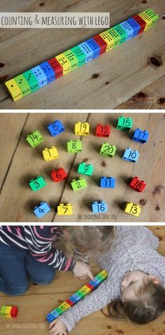Counting and Measuring with Lego *BRILLIANT