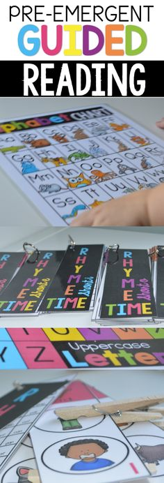 Guided Reading Activities for Early Readers, Includes Printable Lesson Plan Template that Makes Planning Super Easy and Quick! Great for PreK  and Kindergarten
