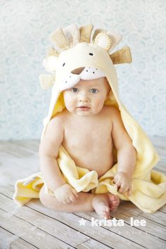 lion hooded towel - Google Search