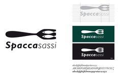 spaccasassi_02_logo design_lampone agenzia di comunicazione_ristorante logo