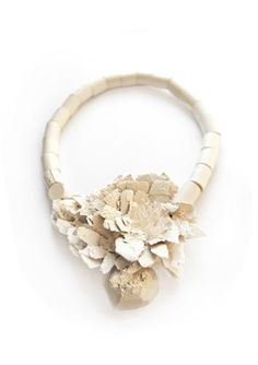 Functional Art-- balsa wood & rock crystal