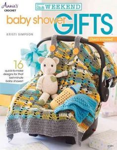 Designer Kristi Simpson has created 15 precious designs that will show that Mom-to-be just how special she and her new baby are to you! You can stitch any of these projects in a weekend for a quick an