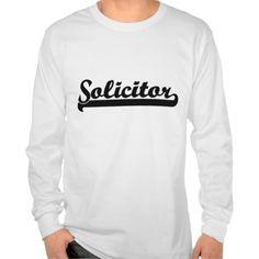 Solicitor Classic Job Design Tee T Shirt, Hoodie Sweatshirt